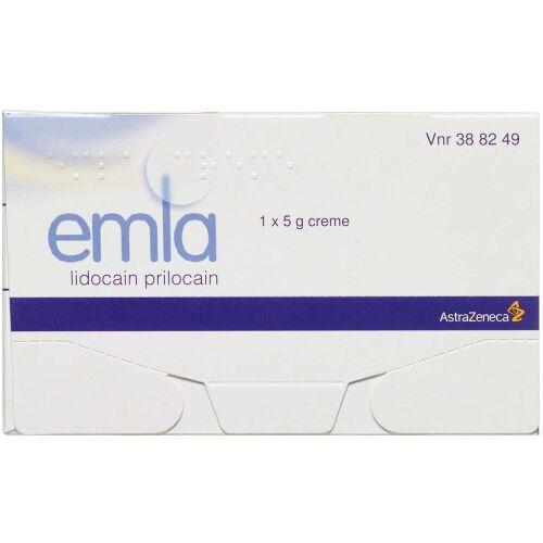 Køb EMLA CREME 25+25 MG/G online hos apotekeren.dk