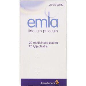 Køb EMLA MEDICINSK PL. 25+25 MG/G online hos apotekeren.dk