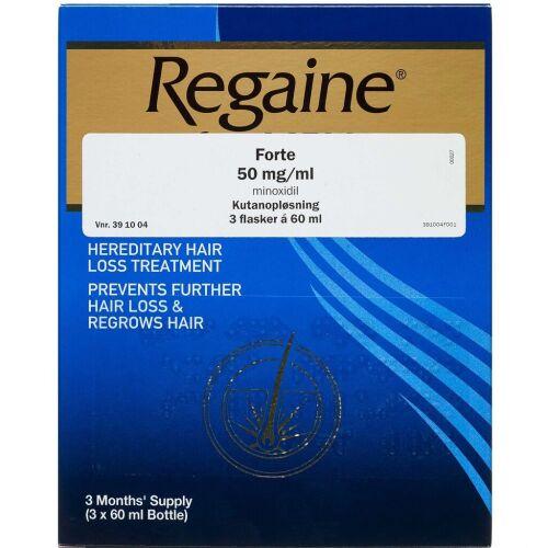 Køb REGAINE FORTE KUTANOPL 50MG/ML online hos apotekeren.dk