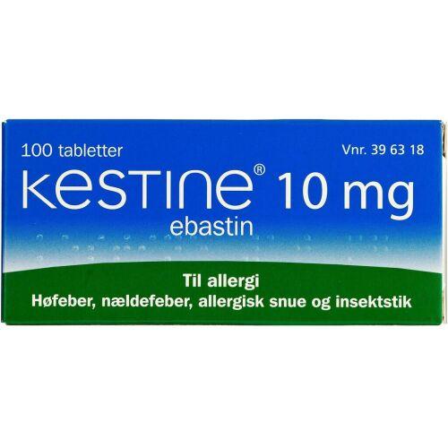 Køb KESTINE TABL 10 MG online hos apotekeren.dk