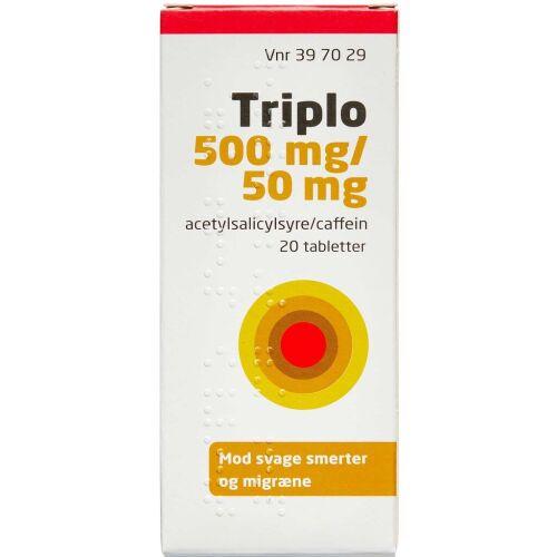 Køb TRIPLO TABL 500+50 MG (ORIFAR online hos apotekeren.dk