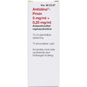 Køb ANTISTINA-PRIV.ØJ 0,25+5MG/ML online hos apotekeren.dk