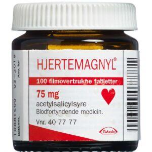 Køb HJERTEMAGNYL TABL 75 MG online hos apotekeren.dk