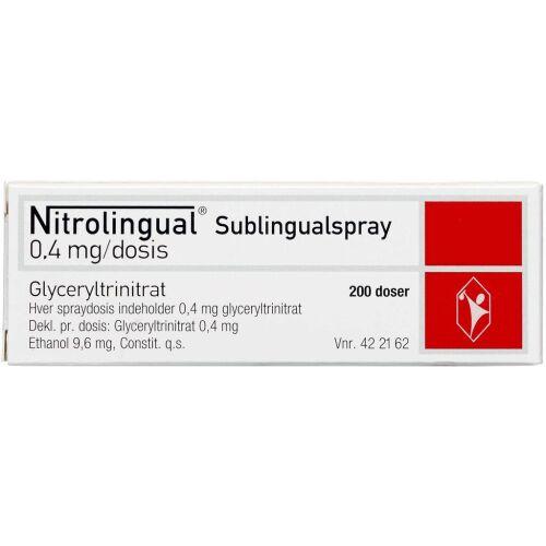 Køb NITROLINGUAL SUBL.SPR.0,4MG/DS online hos apotekeren.dk