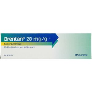 Køb BRENTAN CREME 20 MG/G online hos apotekeren.dk
