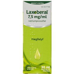 Køb LAXOBERAL ORAL.DRÅBER OPL.7,5 online hos apotekeren.dk