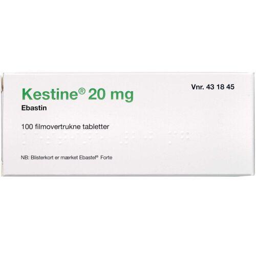 Køb KESTINE TABL 20 MG (2CARE4) online hos apotekeren.dk