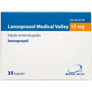 Køb LANSOPRAZOL ENT KAPS 15 MG (M online hos apotekeren.dk