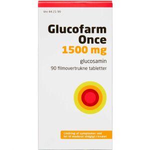 Køb GLUCOFARM ONCE TABL 15OO MG online hos apotekeren.dk
