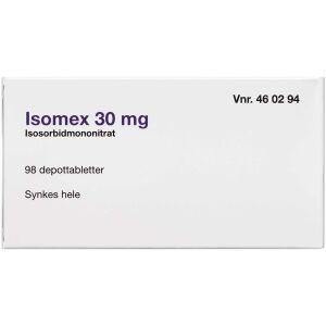 Køb ISOMEX DEPOTTABL 30 MG online hos apotekeren.dk