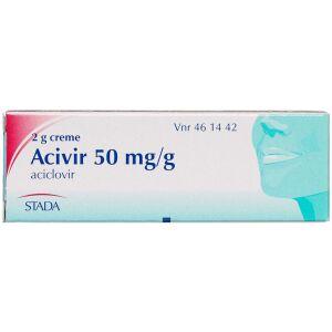 Køb ACIVIR CREME 50 MG/G online hos apotekeren.dk