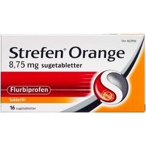 Køb STREFEN ORANGE SUGETB 8,75 MG online hos apotekeren.dk