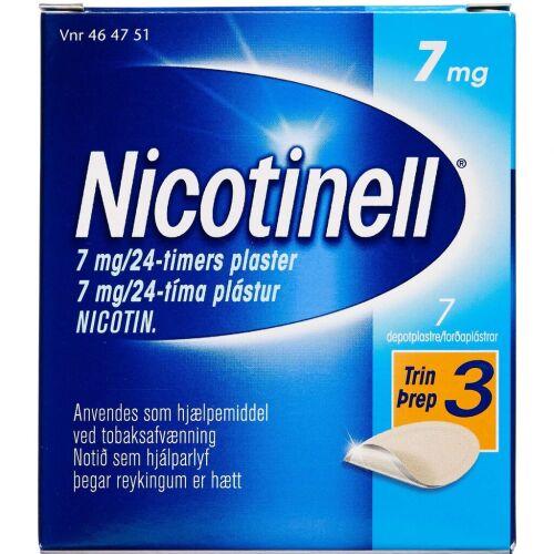 Køb NICOTINELL DEPOTPL. 7MG/24T online hos apotekeren.dk