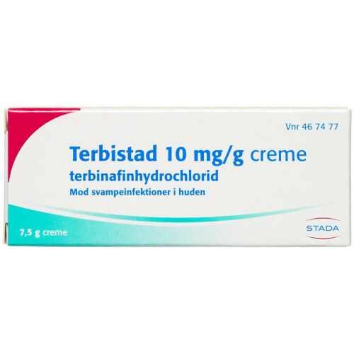 Køb TERBISTAD CREME 10 MG/G (STAD online hos apotekeren.dk