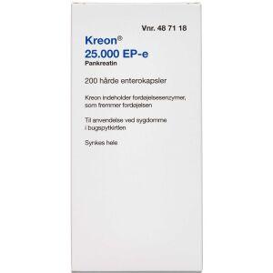 Køb KREON LIPASE 25.000 EP-E ENT online hos apotekeren.dk