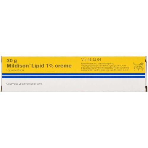 Køb MILDISON LIPID CREME 10 MG/G online hos apotekeren.dk