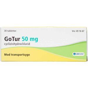 Køb GOTUR TABL 50 MG (ORIFARM) online hos apotekeren.dk