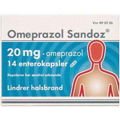 Køb OMEPRAZOL ENTKAPS 20 MG (SAND online hos apotekeren.dk