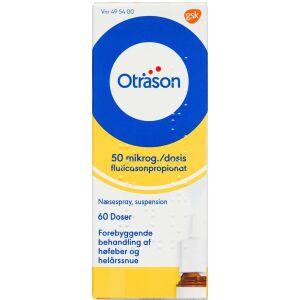 Køb OTRASON NÆSESPRAY 50 MIKG/DS online hos apotekeren.dk