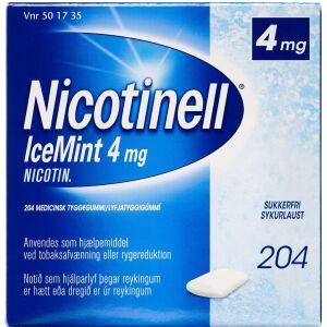 Køb NICOTINELL ICEMINT TYGGEG 4MG online hos apotekeren.dk