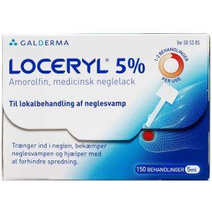 Køb LOCERYL MEDICINSK NEGLELAK 5 % online hos apotekeren.dk