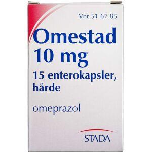 Køb OMESTAD ENTKAPS 10 MG online hos apotekeren.dk