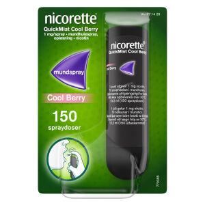 Køb NICORETTE QUICK.COOL BERRY 1MG online hos apotekeren.dk