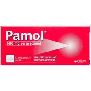 Køb PAMOL TABL 500 MG online hos apotekeren.dk