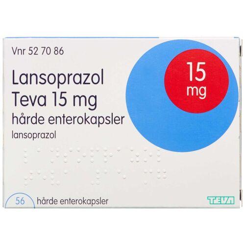 Køb LANSOPRAZOL ENT KAPS 15 MG (T online hos apotekeren.dk