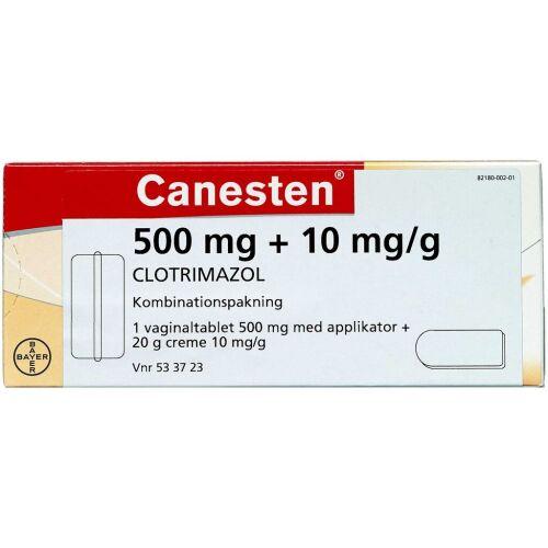 Køb CANESTEN VAGINALTABL+CREME(OR online hos apotekeren.dk