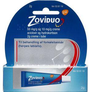 Køb ZOVIDUO CREME 50+10 MG/G online hos apotekeren.dk