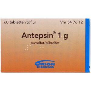 Køb ANTEPSIN TABL 1 G online hos apotekeren.dk