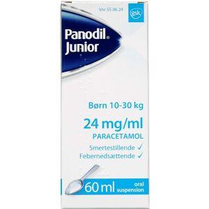 Køb PANODIL JUNIOR OR.SUSP 24MG/ML online hos apotekeren.dk