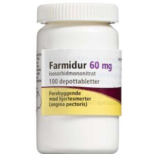 Køb FARMIDUR DEPOTTABL 60 MG (ORI online hos apotekeren.dk