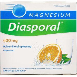 Køb MAGNESIUM DIASPORAL PLV 400 MG online hos apotekeren.dk