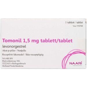 Køb TOMONIL TABL 1,5 MG online hos apotekeren.dk