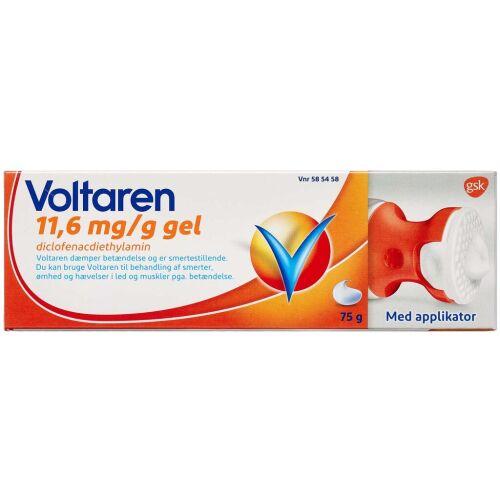 Køb VOLTAREN GEL 11,6 MG/G online hos apotekeren.dk