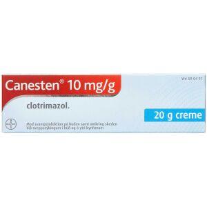 Køb CANESTEN CREME 10 MG/ML online hos apotekeren.dk