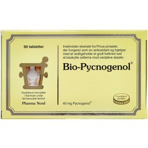 Køb Bio-Pycnogenol tabletter 90 stk. online hos apotekeren.dk
