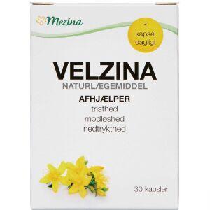 Køb Velzina Hypericum kapsler 30 stk. online hos apotekeren.dk