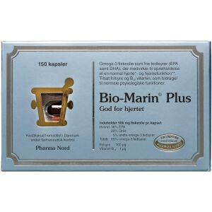Køb Bio-Marin Plus kapsler 150 stk. online hos apotekeren.dk