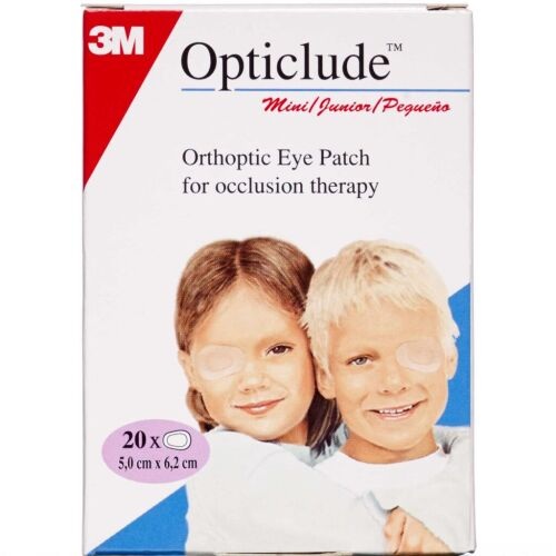 Køb Opticlude Mini Skeleplaster 5 x 6,2 cm 20 stk. online hos apotekeren.dk