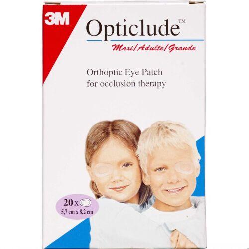 Køb Opticlude Maxi 5,7 x 8,2 cm 20 stk. online hos apotekeren.dk