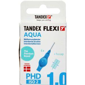 Køb TANDEX FLEXI Mellemrumsbørste - AQUA 6 stk. online hos apotekeren.dk