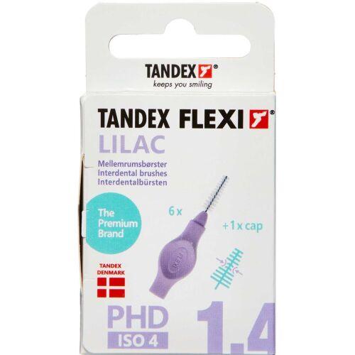 Køb TANDEX FLEXI Mellemrumsbørste - LILAC 6 stk. online hos apotekeren.dk