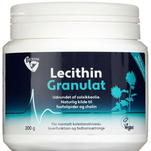 Køb Lecithin Granulat 200 g online hos apotekeren.dk