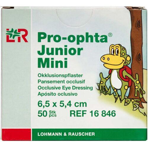 Køb Pro-optha Junior Mini Skeleplaster 6,5 x 5,4 cm 50 stk. online hos apotekeren.dk