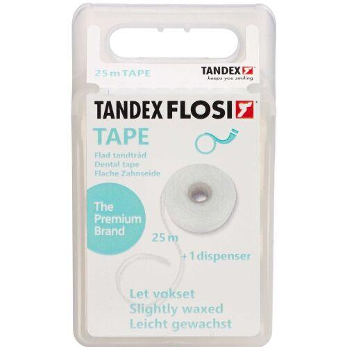 Køb TANDEX Tandtråd Flad 25 m online hos apotekeren.dk