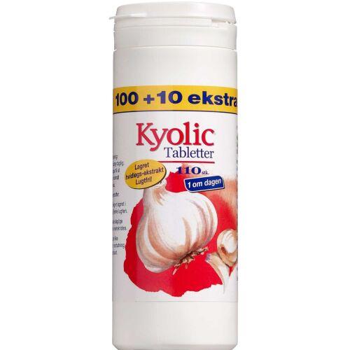 Køb Kyolic 1 om dagen tabletter 100 + 10 stk. online hos apotekeren.dk