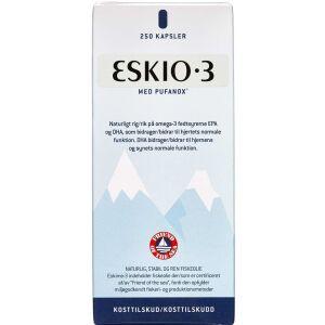 Køb Eskimo-3 med Vitamin E kapsler 250 stk. online hos apotekeren.dk
